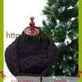 Khăn ống len nữ - Đan thủ công - Handmade