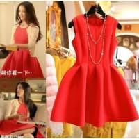 Đầm đỏ TS114 - YIYIHOUSE