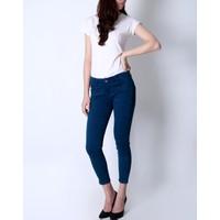 Quần skinny jeans lửng Xanh than