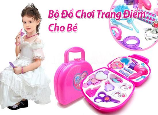 Bộ đồ chơi trang điểm vali cho bé gái 5