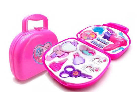 Bộ đồ chơi trang điểm vali cho bé gái 1