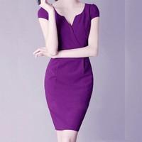 Đầm Công Sở Violet