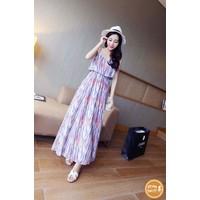 Đầm maxi họa tiết - 1350