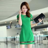 Đầm Váy Công Sở Hàn Quốc D381