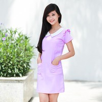 Đầm công sở Purple