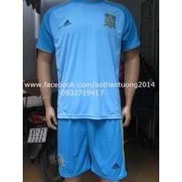 Bộ quần áo đội tuyển Tây Ban Nha màu xanh