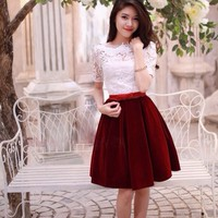 Đầm Váy Công Sở Hàn Quốc D373