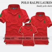 Susu_Bộ Combo 3 áo gia đình cực đẹp đỏ tươi