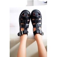Giày sandal - sandal - sandal đế bệt - giày sandal dây đan 3fashion