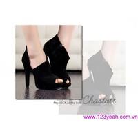 Giày cao gót hàng hiệu 247 chất sành điệu GCG42