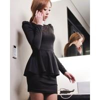 Đầm xòe chân váy ôm - DT2043