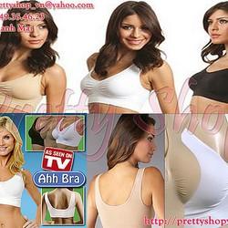Áo ngực thể thao Ahh Bra thun cotton cao cấp - AL005