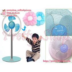 GD013 - Lưới bọc máy quạt an toàn cho trẻ em