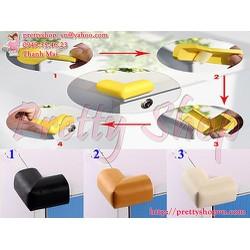 VP033 - Bộ 4 mút mềm bọc góc cạnh bàn an toàn cho bé