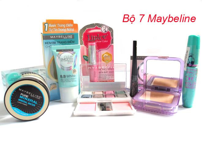 bo my pham maybelline 7 mon 1m4G3 bomyphammaybelline7mon 2ja18rknk2p1s simg d0daf0 800x1200 max Một số vấn đề trong khi tìm mua mỹ phẩm Hàn Quốc