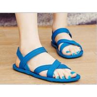 Giày sandals nhựa Gucci 2 quai chéo
