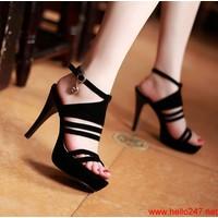 Giày cao gót nữ Việt Nam Xuất Khẩu siu đẹp,bảo hành 1 năm GCN1