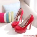 Giày cao gót nữ Việt Nam Xuất Khẩu siu đẹp,bảo hành 1 năm GCN4