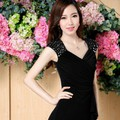 Đầm Cổ Tim Đính Pha Lê Sang Trọng YKMD1586