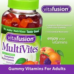 Kẹo dẻo đa vitamin cho người lớn Vitafusion 250 viên
