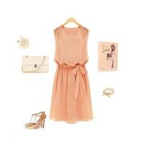 Đầm Vintage Đính Cườm