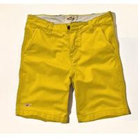 CủCải.HomeDecor - Quần short kaki Hollister  2014 - Màu vàng