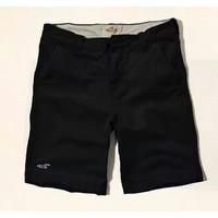 CủCải.HomeDecor - Quần short kaki Hollister  2014 - Màu đen