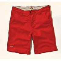 CủCải.HomeDecor - Quần short kaki Hollister  2014 - Màu đỏ tươi