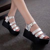 Giày sandal đế bánh mì G-113