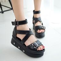 Giày sandal đế bánh mì G-98