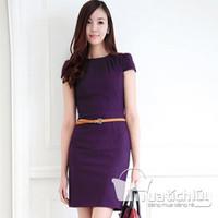 Đầm Lady Fashion - Tím