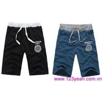 Quần thun nam thể thao,quần short nam Hàn Quốc mới lạ QSN64