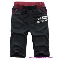 Quần thun nam thể thao,quần short nam Hàn Quốc mới lạ QSN65