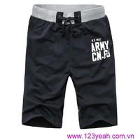 Quần thun nam thể thao,quần short nam Hàn Quốc mới lạ QSN67
