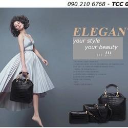Bộ túi xách cao cấp, phong cách châu Âu