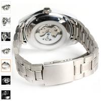 Đồng hồ cơ 5 kim với bảng hiển thị ngày đêm