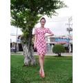 Đầm họa tiêt hoa