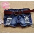 Quần short Jeans nữ thời trang mài rách cá tính-Q307