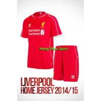 Bộ quần áo Liverpool 2014- 2015 sân nhà