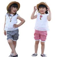 Bộ đồ bé gái dáng ngắn, thiết kế áo xếp tầng nữ tính, quần caro