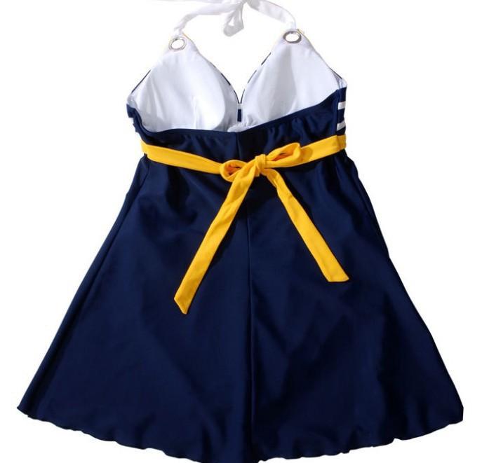 Đồ bơi,bikini váy sọc hải quân gợi cảm-DB026 9