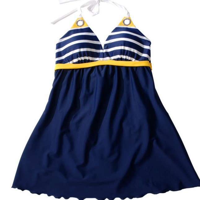 Đồ bơi,bikini váy sọc hải quân gợi cảm-DB026 10