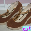 Giày cao gót đế xuồng dây giữa sành điệu GCG24