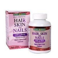 Thuốc làm đẹp da trị rụng tóc  Nature's Bounty –  HAIR SKIN AND NAILS