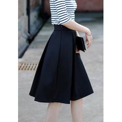 Chân váy vintage chữ A quyến rũ