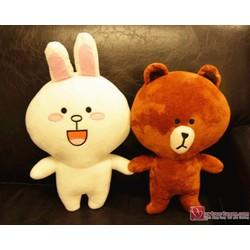 gấu bông brown size s