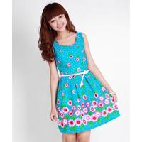 Đầm xòe váy hoa xinh xắn-D1981