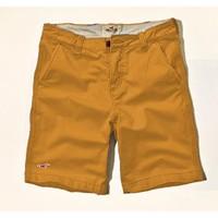 CủCải.HomeDecor - Quần short kaki Hollister  2014 - Màu vàng bò