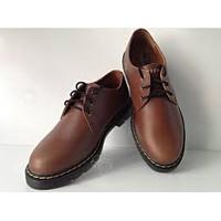 Giày nam đế doctor màu nâu hiệu Evisu XK04