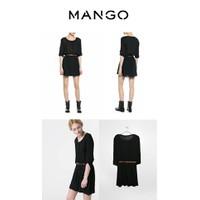 Váy Mango chất lụa tơ Hàng xuất xịn, kèm cả thắt lưng và mắc áo